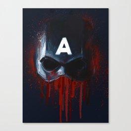 Cap Helmet Canvas Print