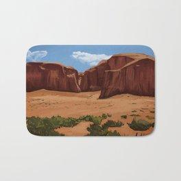 Desert Landscape Bath Mat