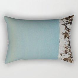 Simple Birch #5 Rectangular Pillow
