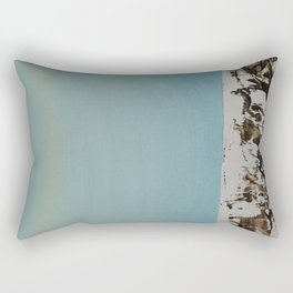Simple Birch #5 Rectangular Pillow