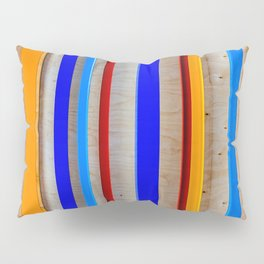 Steel And Wood Geometry Pillow Sham