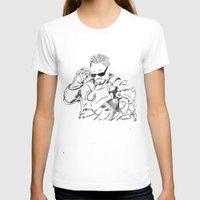 tony stark T-shirts featuring Iron Man (Tony Stark) by  Steve Wade ( Swade)