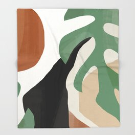 Abstract Art 37 Throw Blanket