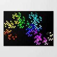 little squares Canvas Print
