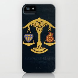 Ul'dha Flag - The Immortal Flames ( FFXIV) iPhone Case