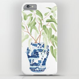 Ginger Jar + Eucalyptus iPhone Case