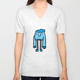 Blue Monday Monster Unisex V-Neck