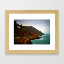 A View Framed Art Print
