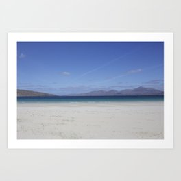 Beach 3 Lewis and Harris 1 Art Print