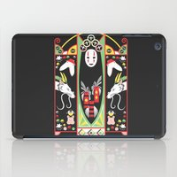 deco iPad Cases featuring Spirited Deco by Ashley Hay