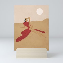 Warm Dune Sand Mini Art Print