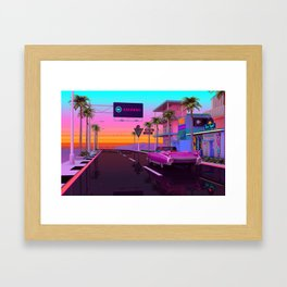 Junipero Framed Art Print