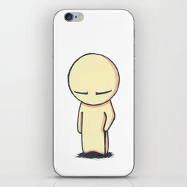 Chin Up iPhone Skin