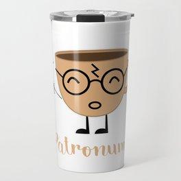 Espresso Patronum Funny T-Shirt Cute Coffee Tee Shirt Wizard Travel Mug