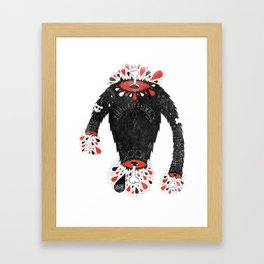 SALVAJEANIMAL headless II Framed Art Print