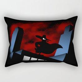 The Duck Knight Rectangular Pillow