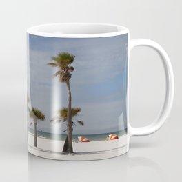 Clearwater Beach In Wintertime Coffee Mug