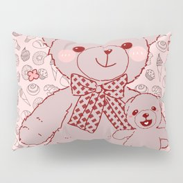 The Adventures of Bear and Baby Bear-Pastry2 Pillow Sham