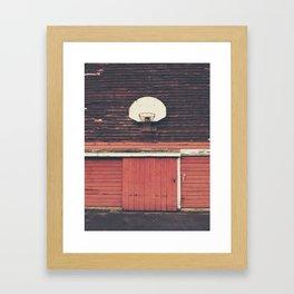 Hoop Framed Art Print