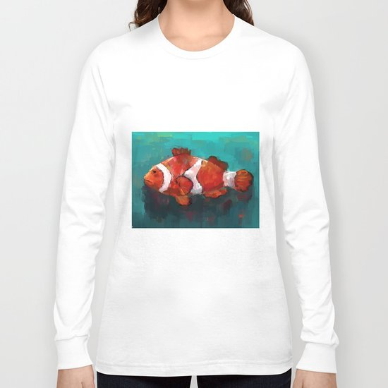 Red Clown Long Sleeve T-shirt