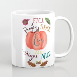 Pumpkin Spice Fall Coffee Mug