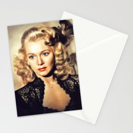 Carole Landis, Movie Legend Stationery Cards