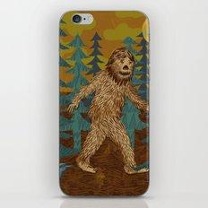 Bigfoot birthday card iPhone & iPod Skin