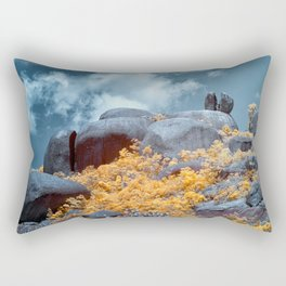 Cracked Big Rock Rectangular Pillow