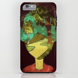 Un Rostro Natural - Face of Nature iPhone Case