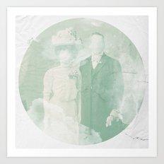 La extraña pareja Art Print