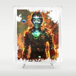dead space Shower Curtain