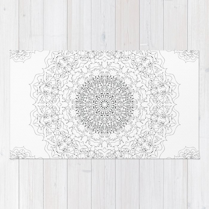 MANDALA NO. 23  #society6 Rug