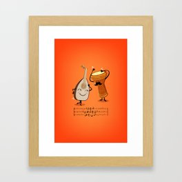 Made for Eachother Framed Art Print