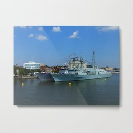 Navy Week II Metal Print
