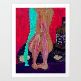 Jack & She Art Print
