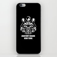 okami iPhone & iPod Skins featuring OKAMI: ANATOMY BRAND by Kush Wright