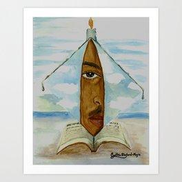 Man In the Mirror Art Print
