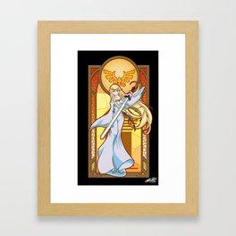 Goddess Hylia Framed Art Print