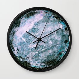 Full Snow Moon Wall Clock