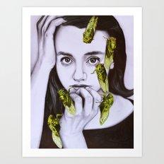 cicadas Art Print