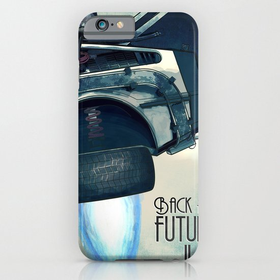 Back to the future II iPhone & iPod Case