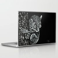 philippines Laptop & iPad Skins featuring Bohol Tarsier from the Philippines by Nathan Cole