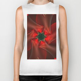 Merry Christmas With Love Biker Tank
