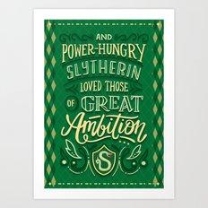 Great Ambition Art Print