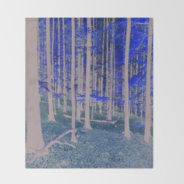 TREES Duvet Cover by Mackin & SO MUCH MORE Throw Blanket