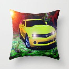 2011 Camaro Throw Pillow