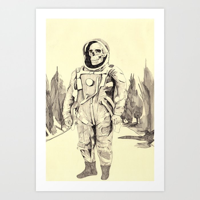 Space Kook Art Print