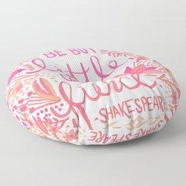 Little & Fierce – Pink Ombré Floor Pillow