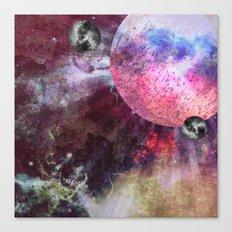 Lunar Strain Canvas Print