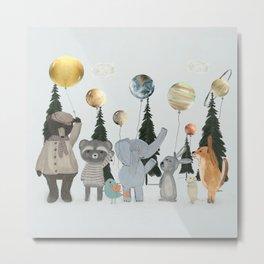 the solar parade Metal Print